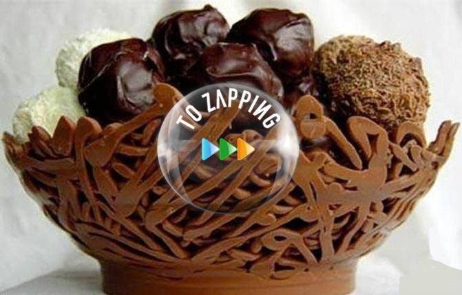 Diy tazón de chocolate