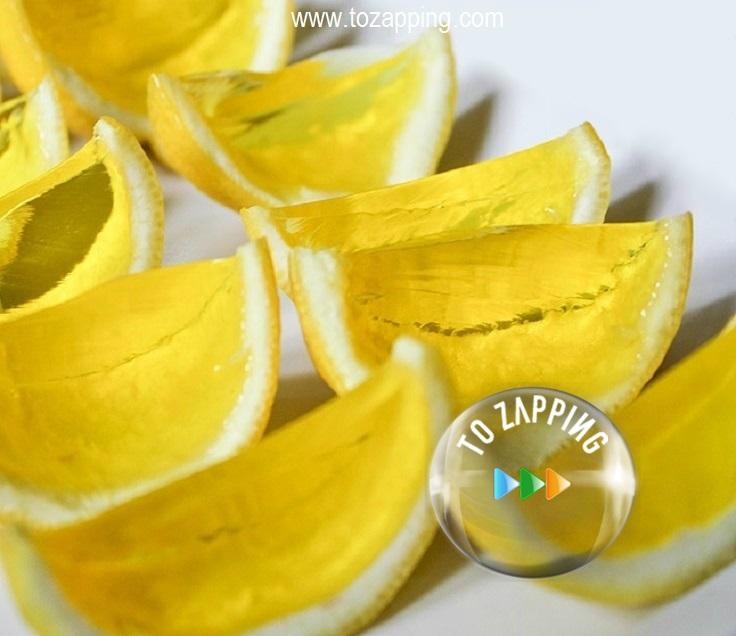 Limones de gelatina