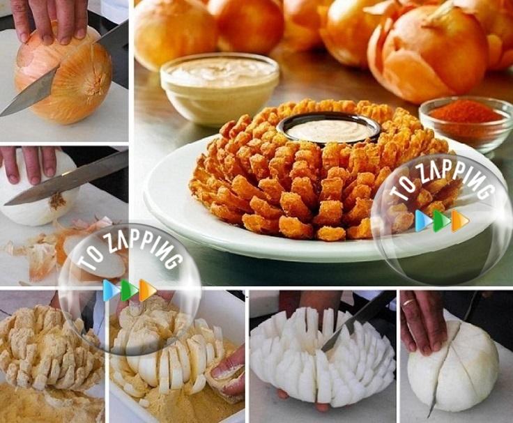 Cebolla Rebozada Frita