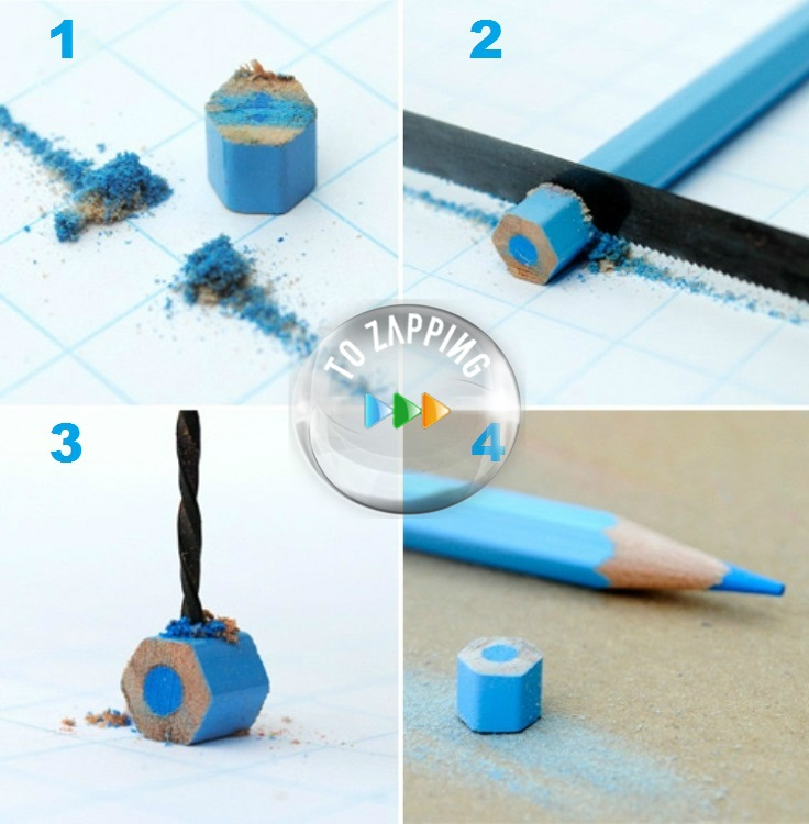 Cómo hacer colgantes con lápices de colores