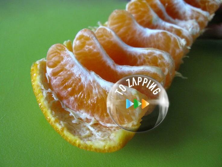 Cómo comer naranjas y mandarinas sin pelarlas