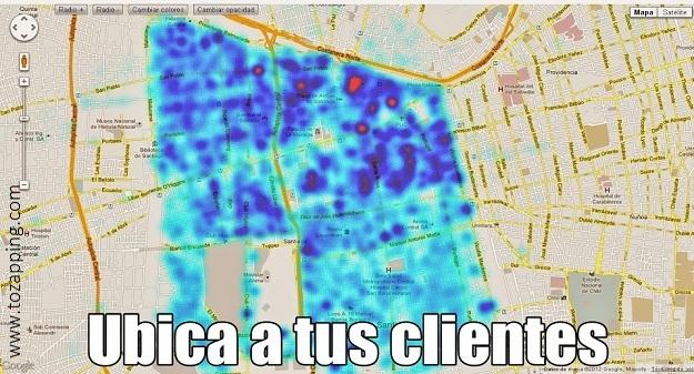 Cómo crear un mapa de concentración de clientes desde una hoja de cálculo