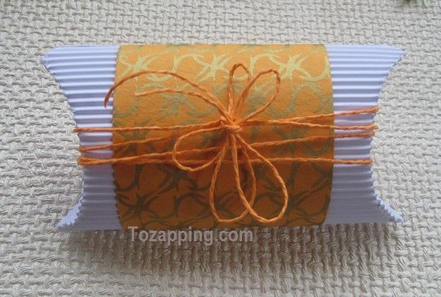 Cómo hacer cajas para regalo la caja terminada 2
