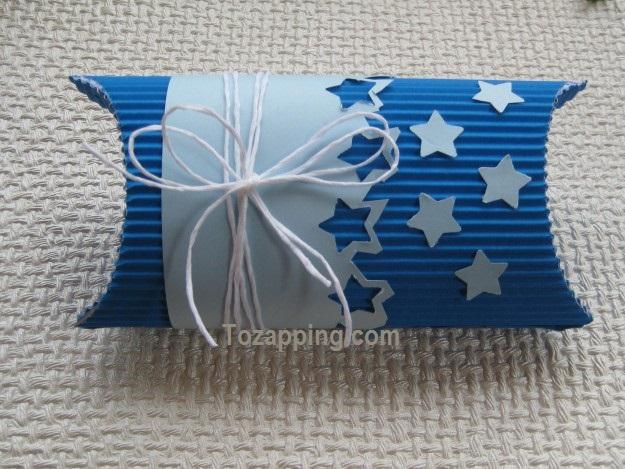 Cómo hacer cajas para regalo con papel troquelado