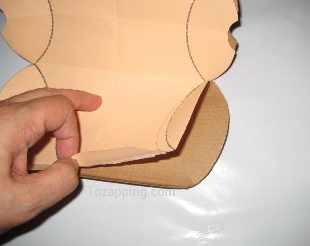 Cómo hacer cajas para regalo recortamos