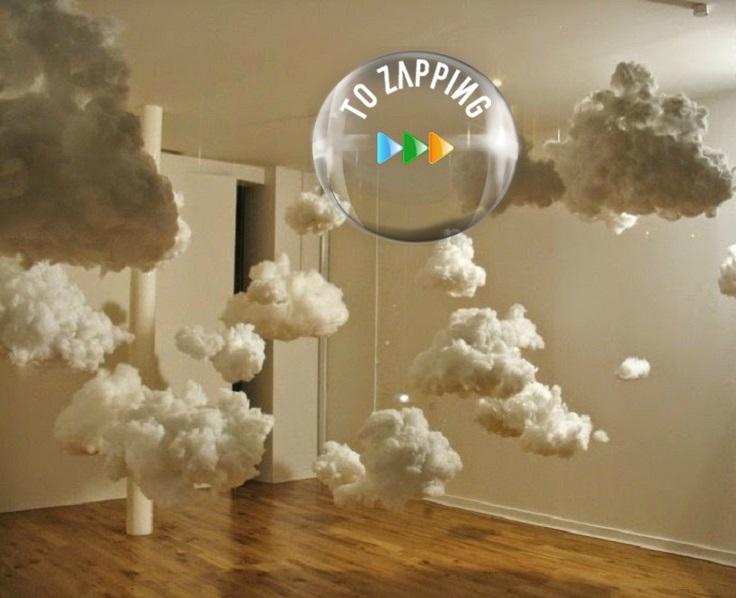 Cómo hacer lámparas de nube