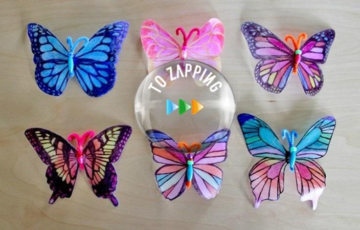 Cómo hacer mariposas con botellas recicladas