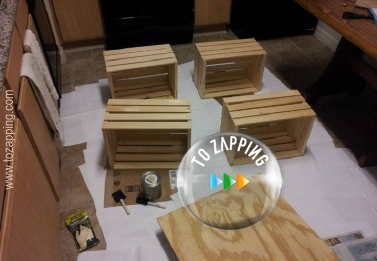 Cómo hacer mesa de centro reciclada