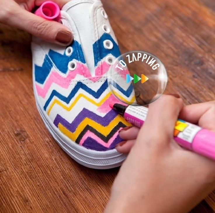 Cómo Hacer Zapatillas De Colores