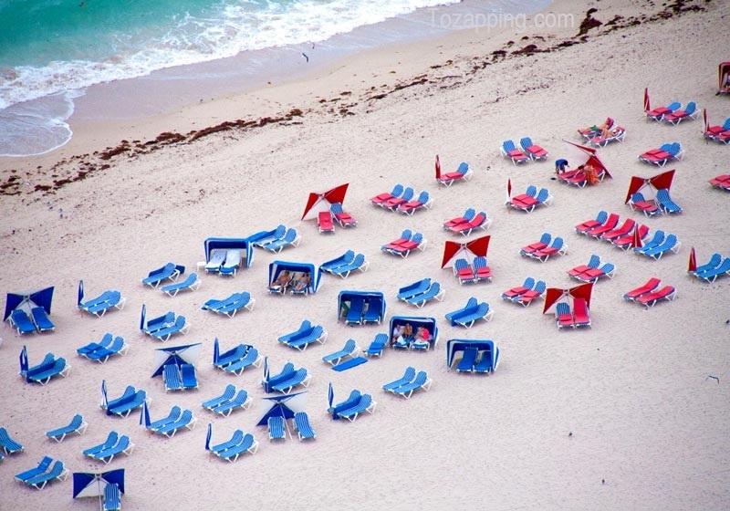 Fotos aéreas de hermosas playas