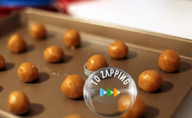 Galletas con forma de botones