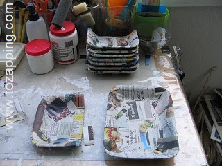 Organizadores Reciclados con Bandejas Desechables