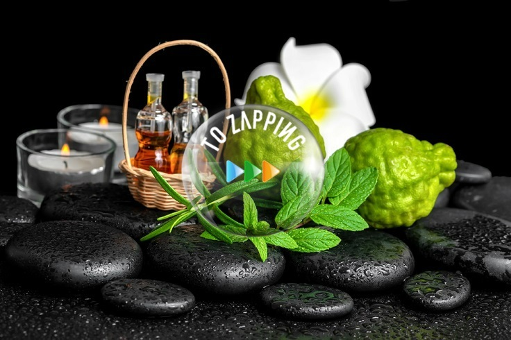 Perfume natural para el cabello