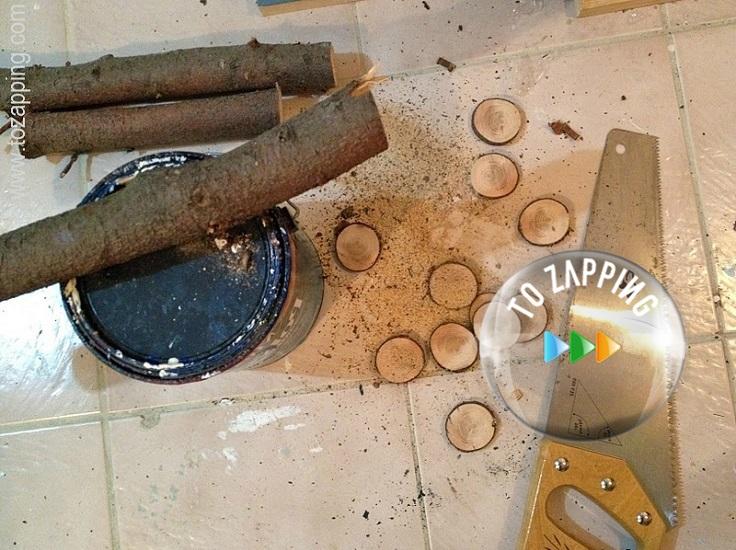 Cómo hacer espejos hecho de tronco