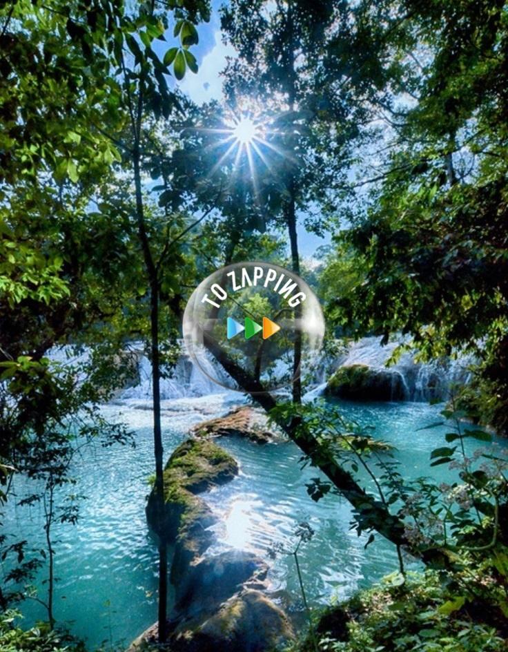 Cascadas de Agua Azul, Tumbalá, Chiapas, México