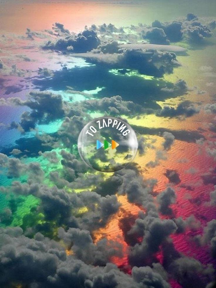 Increíble foto de arco iris