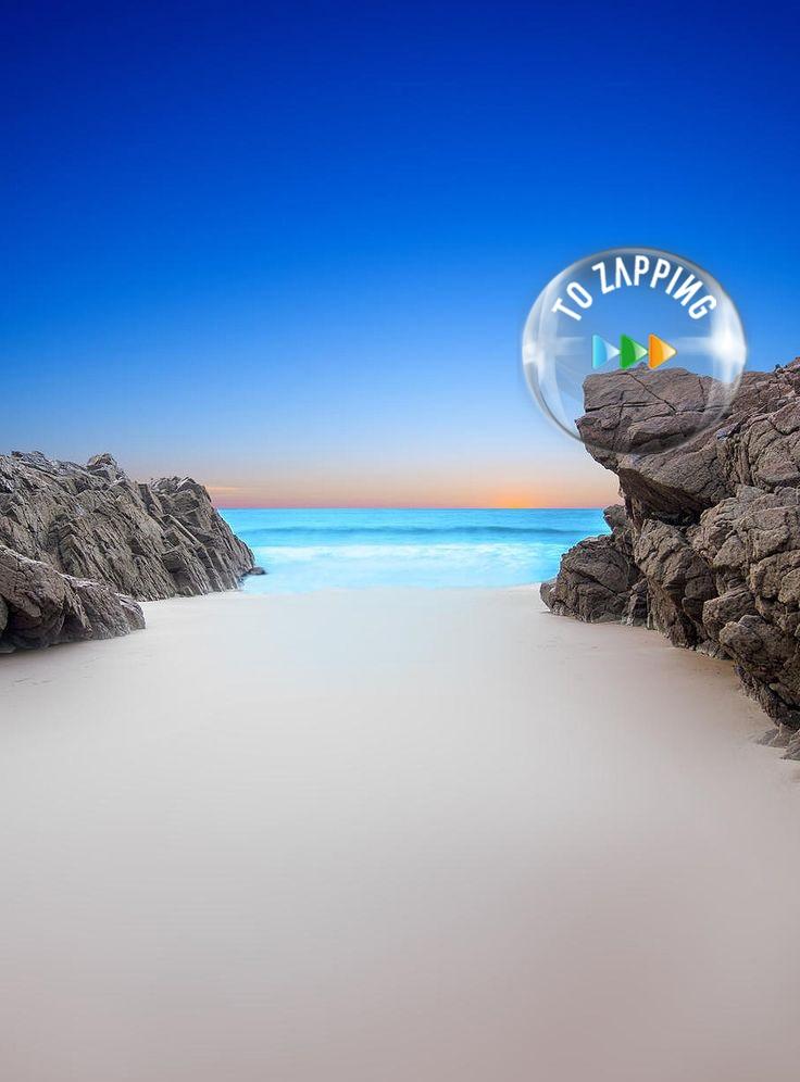 Playa Plemont en las Islas del Canal