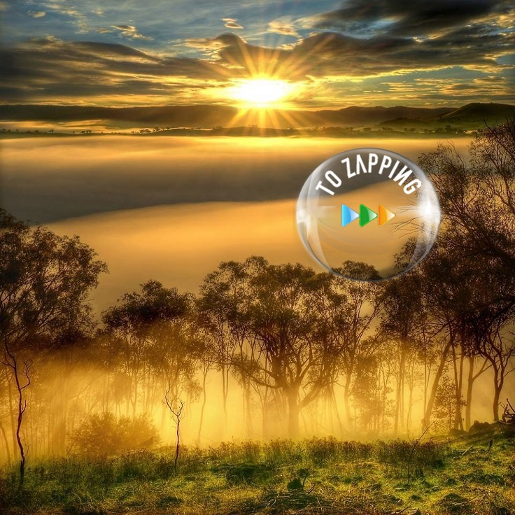 Salida del sol en el Valle Ovens Australia