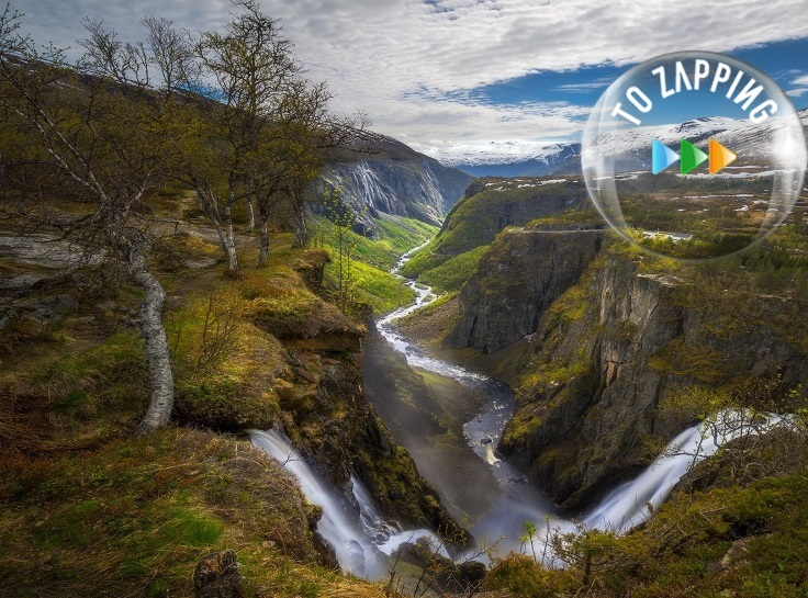 Vøringfossen Cascada en Noruega