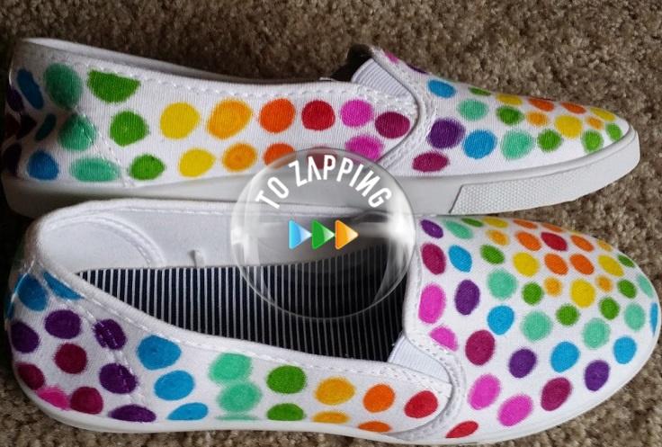 Cómo decorar zapatillas