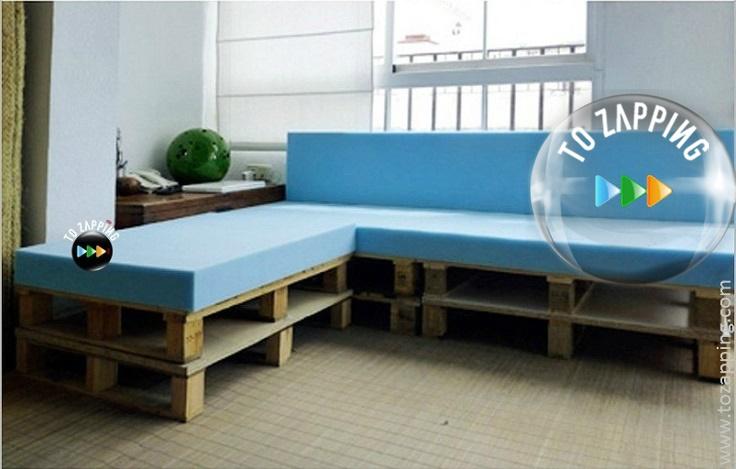 Cómo fabricar un sofá de palets