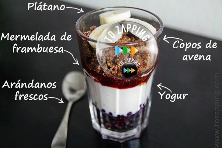 Receta de desayuno saludable