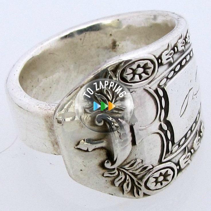 Cómo hacer un anillo con cuchara de plata