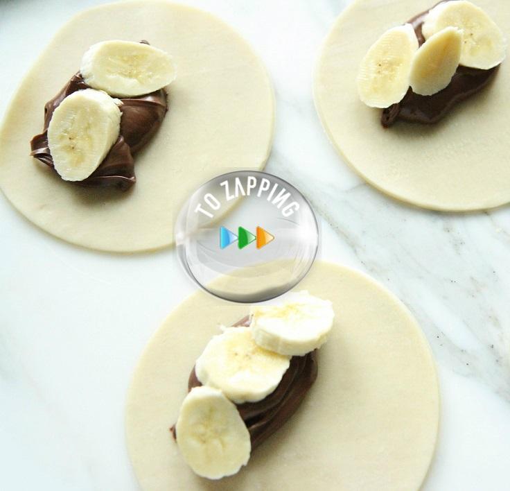 Empanadas De Nutella Y Plátano
