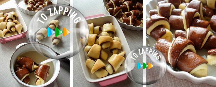 Cómo Hacer Croissants Caseros De Dos Colores