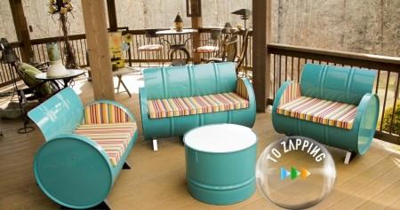 Reciclaje archivos tozapping - Muebles hechos con materiales reciclados ...