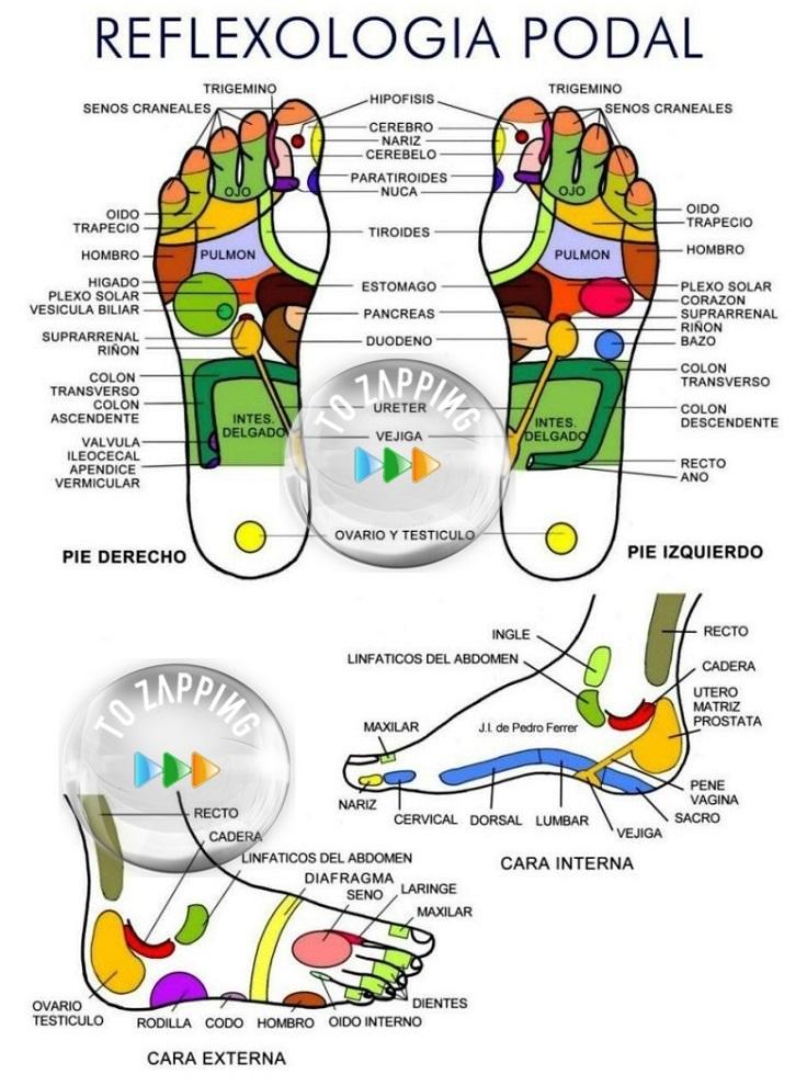 Beneficios del masaje en los pies antes de dormir