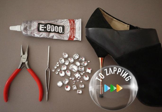 Cómo decorar zapatos de tacón