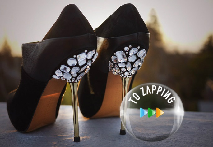 Decorar zapatos de tacón