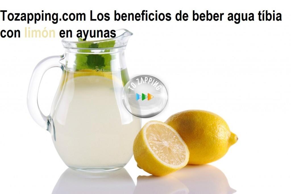 Propiedades del agua tibia con limon en ayunas