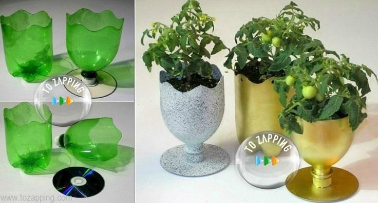 Manualidades con materiales reciclados - Ideas para decorar con materiales reciclados ...