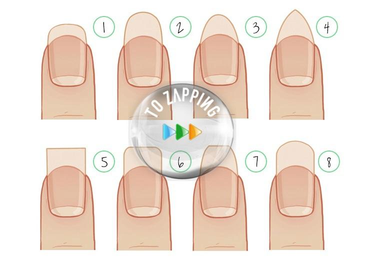 Que dicen las formas de las uñas sobre ti