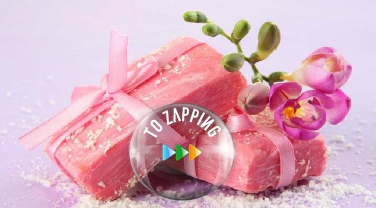 Jabón de rosa mosqueta natural