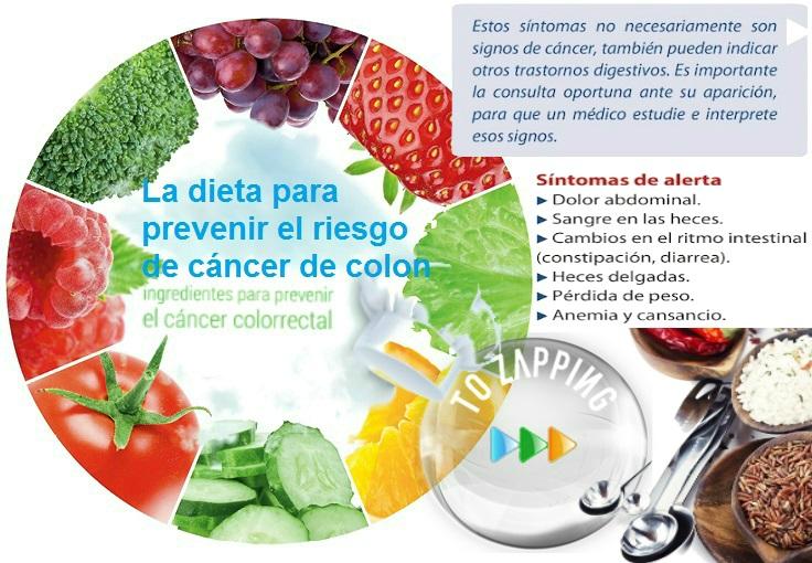 La dieta para prevenir el riesgo de c ncer de colon - Alimentos contra el cancer de mama ...