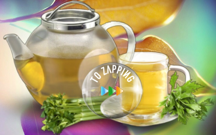 Receta de té de apio para adelgazar