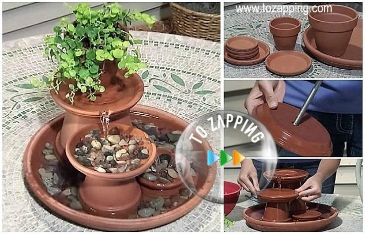 Cómo hacer fuente de agua feng shui