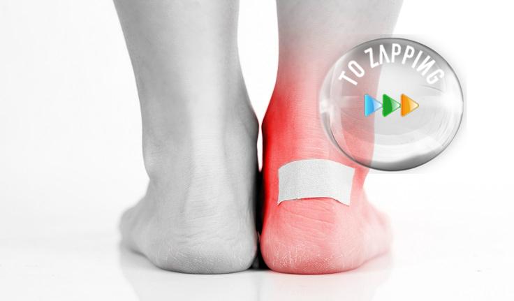 Cómo tratar las desagradables ampollas de los pies