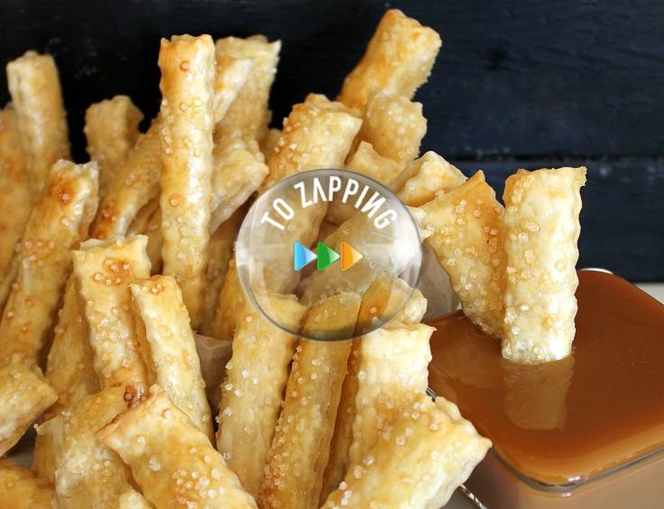 Cómo hacer patatas fritas de manzana