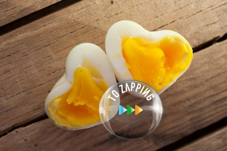Huevos Con Forma De Corazón