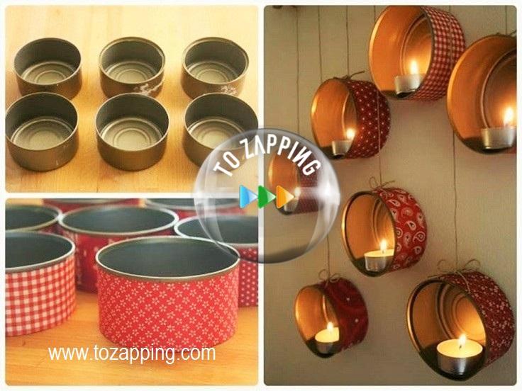 Manualidades reciclaje de decoración