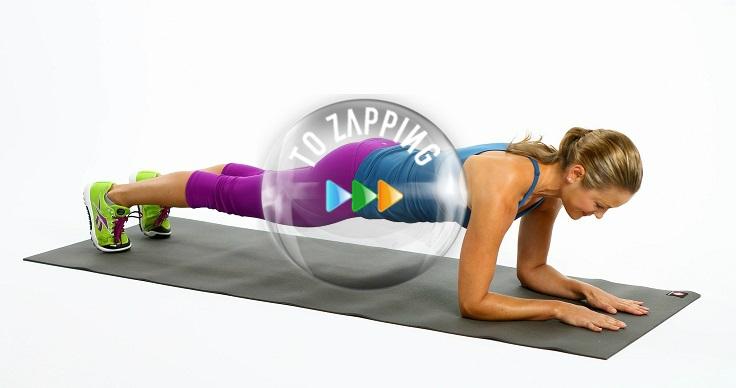 Plank ejercicio abdominal que trabaja todo tu cuerpo